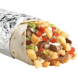 Burrito Extra Grande de Carne y Pollo
