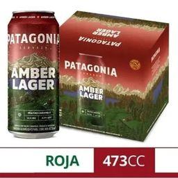 Six Pack Patagonia Amber Lager 500 ml