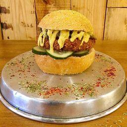 Combo Burger Gran Hindú & Bebida