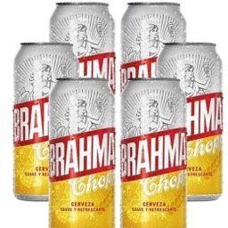 6 Pack Brahma 473 ml