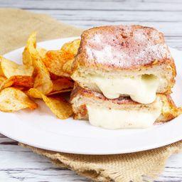Sándwich de Mozzarella