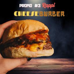 Promo Rappi#3 (cheeseburger Doble)
