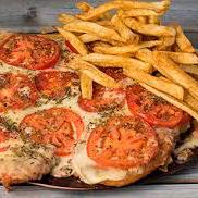 Pizzanesa de Muzzarella + Papas