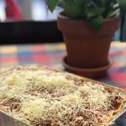 Lasagna Vegetariana ( Rinde 2 Porciones )