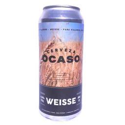 Cerveza Ocaso Weisse Lata 473ml