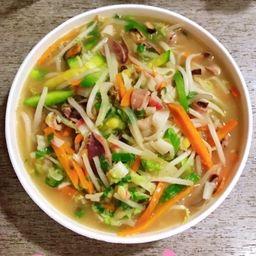 Sopa de Marisco con Verduras