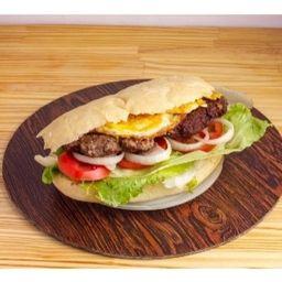 Sándwich Carne Novillito y Fritas