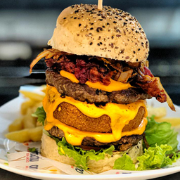 Thunder Triple Burger