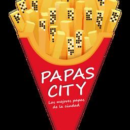 Papas con Cheddar Medianas