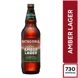 Six Pack Patagonia Amber Lager 730 ml