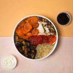 Bowl de Quinoa & Pollo.