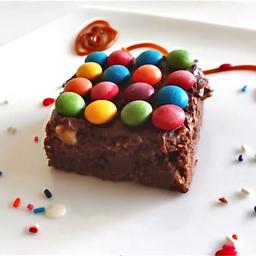 Brownie con Nutella & Rocklets