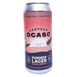 Cerveza Ocaso Summer Lager Lata 473ml