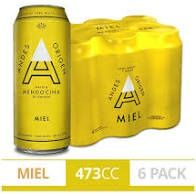 Sixpack Andes Miel 473 ml