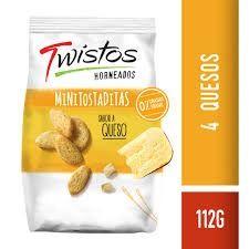 Twistos Queso 112g