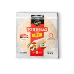 Tortilla de Trigo XL X 8