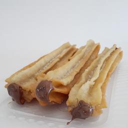 Churros Rellenos de Choco x 3