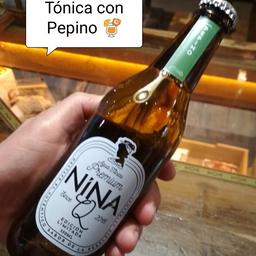 Nina Q Tónica Pepino 330 ML