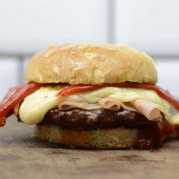 Combo Burger Jamón & Morrón