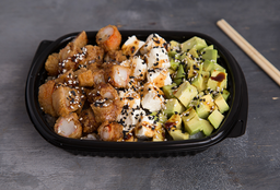 Ebi Furai Salad