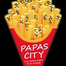Caja de Papas Cheddar Doble