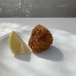 Onigiri Frito de Salmón y Palta