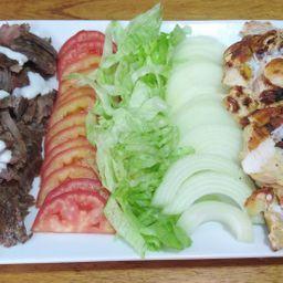 Shawarma Mixto al Plato