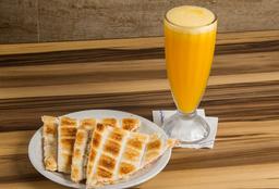 Combo Tostado de Jamón y Queso + Exprimido de Naranja