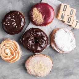 Donuts Rellenas X 6