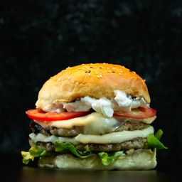Hamburguesa Swiss Chicken Doble