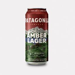 Lata cerveza patagonia amber