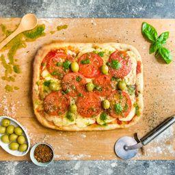Pizza Vegana Capri