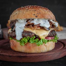 Gourmet Burger Doble