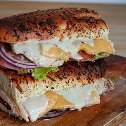 Sándwich de Pollo 30 Cm para 2