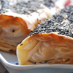 Strudel de Mozzarella y Hongos