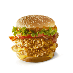 Doble Bacon Súper Crunch Sándwich