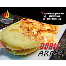 Combo Doble Arepa