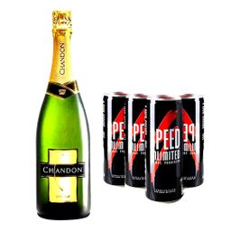 Champagne Chandon 750 ml & Speed