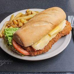 Sándwich de Suprema