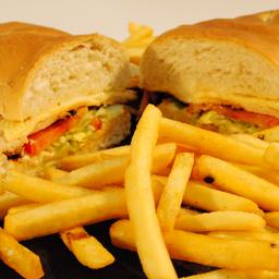 Sandwich de Milanesa de Pollo Completo