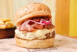 Hamburguesa Hamburtica sin Tacc + Papas