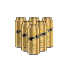 Six Pack Cerveza Imperial Lata 473ml