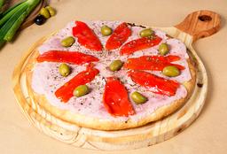 Pizza de Morrones
