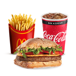 McCombo Provoleta Crispy de Carne Mediano