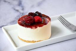 Mini Cake de Cheesecake Frutos Rojos