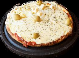 Pizza Mozzarella Individual + Bebida