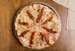 Pizza Jamón & Morrón