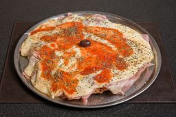 Pizzanesa Napolitana de ternera con papas fritas (Comen 4)