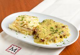 Pollo a la Mostaza & Milhojas
