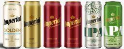 Six Pack Degustacion Imperial 473ml Cerveza